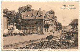 EVERGEM  -  Gemeentehuis En Monument - Evergem