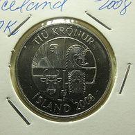 Iceland 10 Kronur 2008 - Islande