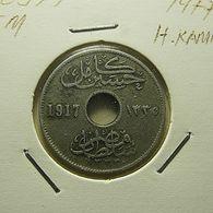 Egypt 5 Milliemes 1917 - Egypte