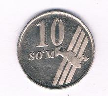 10 SOM 2001 OEZBEKISTAN /5197/ - Uzbekistan