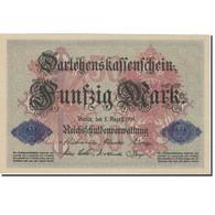 Billet, Allemagne, 50 Mark, 1914, 1914-08-05, KM:49b, TTB+ - 50 Mark
