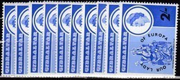10x Gibraltar 1966, Our Lady Of Europa (MNH, **) - Francobolli