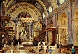 Malte Malta N°MAL 120 St John's Co Cathédral Valletta Malta ORGUE ABC Photographic Dept VOIR DOS - Malte