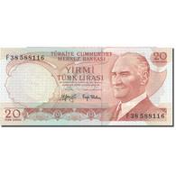 Billet, Turquie, 20 Lira, L.1970, 1974, KM:187a, NEUF - Turchia