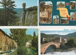 20 / 7 / 18  -LOZÈRE ( 48 ) Lot  DE  400  CPM  À  16€ ,50 PLUS PORT ( 8€ 95 POUR LA FRANCE )  5 - 100 - 499 Cartes