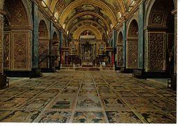 Malte Malta N°783 91 Interior Of St John's Co Cathedral Valletta VOIR DOS - Malte