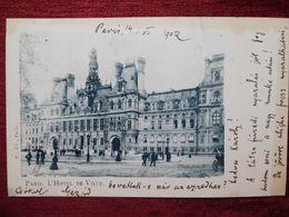 FRANCE / PARIS - HOTEL DE VILLE / 1902 (AB31) - Pubs, Hotels, Restaurants
