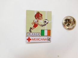 Beau Pin's , Football , Mexicana 94 , Irlanda  , Mexique - Irlande - Football