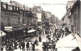 FR03 MONTLUCON - Rue De La République - Jour De Marché - Animée - Belle - Montlucon