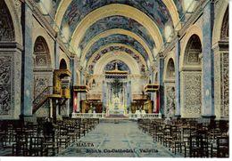 Malte Malta N°MA 25 St John's Co Cathedral Valletta VOIR DOS - Malte