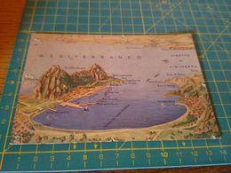 153628 CARTOLINA DISTRUTTA MEDITERRANEO GIBILTERRA  FORZE ARMATE - Gibraltar