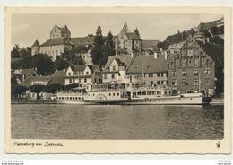 AK  Meersburg Am Bodensee Mit Dampfer 1952 - Meersburg