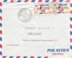 CENTRALAFRICAN REPUBLIC - AIRMAIL 1960 BANGUI - VIENNA/AT /T181 - Central African Republic