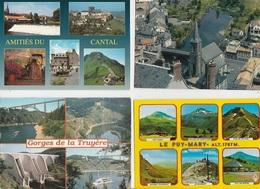 20 / 7 / 24 - CANTAL ( 15 )  LOT DE 400 CPM À 16€ ,50 PLUS PORT ( 8€ ,95 POUR LA FRANCE ) - 100 - 499 Cartes