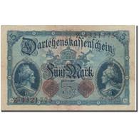 Billet, Allemagne, 5 Mark, 1914, 1917-08-01, KM:47c, TTB - [ 2] 1871-1918 : Impero Tedesco