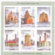 2014. Azerbaijan, Historical Monuments Of Karabagh, Sheetlet, Mint/** - Azerbaijan