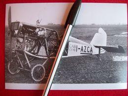 FOTOGRAFIA  AEREO CAPRONI CAB - C1  Matricola I-AZCA - Aviazione