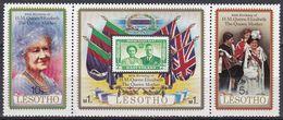 Lesotho 1980 Geschichte History Perönlichkeiten Königshäuser Royals Königinmutter Elisabeth Prinz Charles, Mi. 316-8 ** - Lesotho (1966-...)