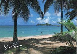 Antilles, Saint Lucia, Pigeon Island, Unused - Sainte-Lucie