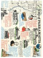 (B 8) Australia - NSW - City Of Paramatta  (Map) - Sydney