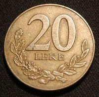 ALBANIE - ALBANIA - 20 LEKE 1996 - KM 78 - Albanië