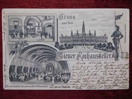 AUSTRIA / WIEN - VIENNA / RATHAUSKELLER - RATSKELLER / 1899 (AB31) - Vienna Center