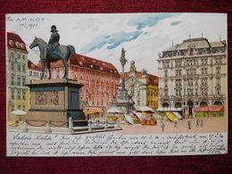 AUSTRIA / WIEN - VIENNA / AM HOF / 1901 (AB31) - Vienna Center
