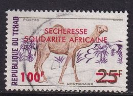 Chad 1973, Overprint, Minr 667 Vfu - Chad (1960-...)