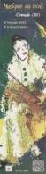 Très Joli Marque-Pages  -  Creuse 80 -  Musique Au Bois  -  PIERROT Jouant Du Violon - Lesezeichen