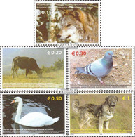 Kosovo 45-49 (kompl.Ausg.) Postfrisch 2006 Tiere - Ungebraucht