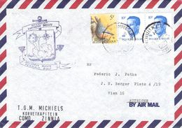 BELGIUM - AIRMAIL 1990 BELGIAN NAVY PERSIAN GULF /T189 - Belgique