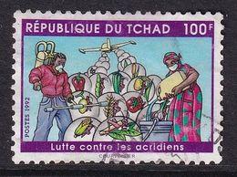 Chad 1992, Minr 1209 Vfu. Cv 16 Euro - Chad (1960-...)