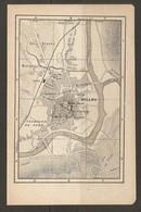 CARTE PLAN 1921 - MILLAU LES GRAVES MONTPLAISIR BANQUE De FRANCE BEFFROI - Mapas Topográficas