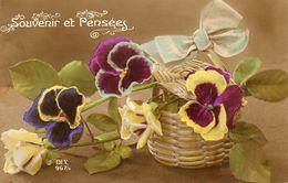 Souvenir Et Pensees - Flores