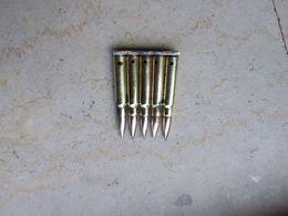 Clip De 5 Cartouches Mauser 14 18 Neutralisé - Armas De Colección