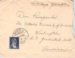 TURKEY - LETTER 1936 BEYOGLU - WASHINGTON /T191 - Briefe U. Dokumente