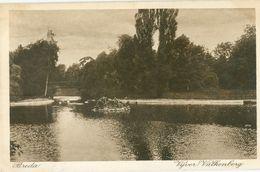 Breda 1915; Vijver Valkenberg - Gelopen. (P.C.G. Peereboom - Breda) - Breda