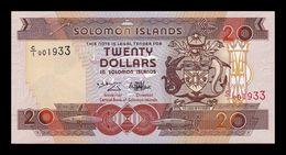 Islas Salomon Solomon 20 Dollars 1996 Pick 21 C/1 SC UNC - Salomons