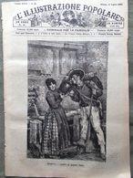 L'illustrazione Popolare 21 Luglio 1889 Don Tarra Lavigerie Ipnotismo Chirurgia - Avant 1900