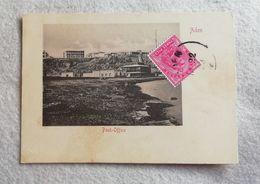 "Cartolina Postale Aden ""post Office"" 1903 - India (...-1947)"