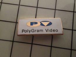 316a Pin's Pins / Rare & Belle Qualité !!! THEME : CINEMA / POLYGRAM VIDEO Par CAROLINE LISFRANC - Films
