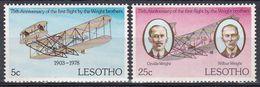 Lesotho 1978 Transport Luftfahrt Aviation Flugzeuge Aeroplanes Planes Erfindungen Inventions Wright, Mi. 260-1 ** - Lesotho (1966-...)
