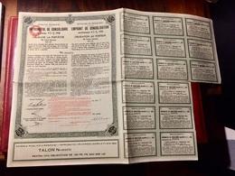 ROYAUME De ROUMANIE EMPRUNT De CONSOLIDATION 4 1/2% 1934 ------Obligation  De  100 Frs - Shareholdings
