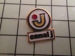 316a Pin's Pins / Rare & Belle Qualité !!! THEME : MEDIAS / CHAINE DE TELE CANAL J Par FORMULA - Mass Media