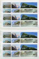 """Gibraltar - 4 X Block Nr. 133 - """"Ansichten Des Felsens Von Gibraltar"""" ** / MNH (aus Dem Jahr 2018) - Gibraltar"""