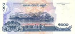 CAMBODIA P. 58a 1000 R 2005 UNC - Cambodge