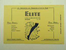 BUVARD ELITE CHEMISIER ET JUPE LINGERIE BONNETERIE GANTERIE BETHUNE 62400 - Vestiario & Tessile