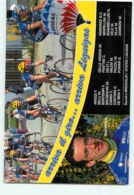 DELLA VEDOVA , Giro 1997. 2 Scans. Cyclisme. Brescialat Oyster Liquigas 1997 - Cycling