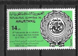 1985 - 564 **MNH - 40 Ans De La Ligue Arabe - 2 - Mauritania (1960-...)