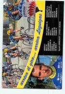 W. BELLI , Giro 1997. 2 Scans. Cyclisme. Brescialat Oyster Liquigas 1997 - Cycling